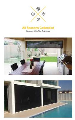 Introducing The All Seasons Outdoor Blind Collection The